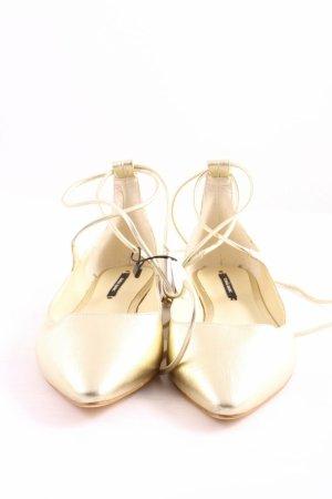 Sommer ballerina Zara elegante evening ballerina schuhe