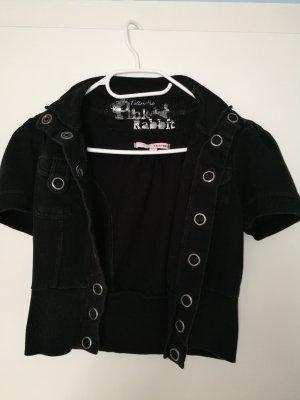 Sommer Baumwolle Jacke Blazer Hemd mit kurze ärmel mit den Taschen von Tally Weijl