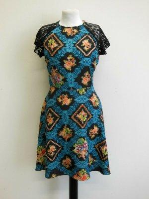 Sommer Blumen Kleid Gr:36 Mehrfarbig, vintage