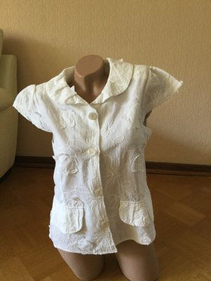 Blusa Crash bianco Viscosa