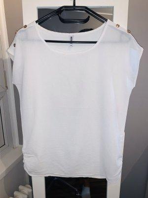 Colloseum Oversized shirt wit-goud