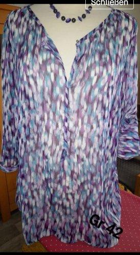 Bonita Blusa a tunica multicolore