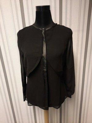 Sommer Bluse schwarz Größe S / 36