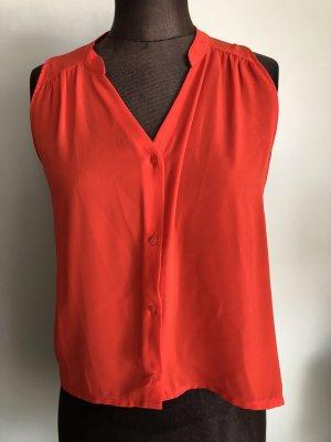 Sommer Bluse Top Gr 34 36 XS/S von H&M orange