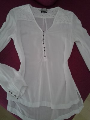 eight 2 nine Lace Blouse white-natural white