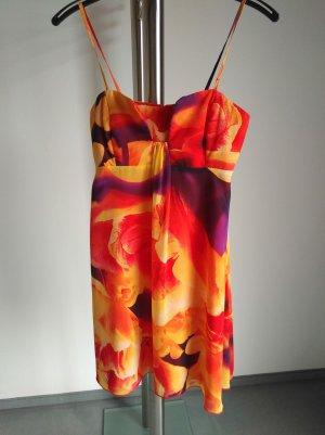 Swing A Line Dress multicolored
