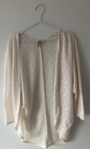 H&M Divided Cardigan all'uncinetto crema