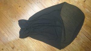 Forever 21 Vestido bustier negro Poliéster