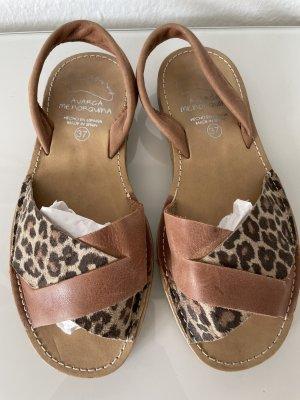 AVARCA MENORQUINA Romeinse sandalen bruin-lichtbruin