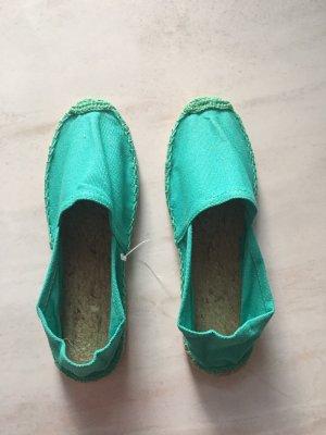 Scarpa slip-on verde