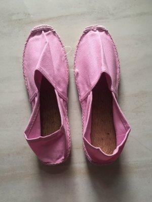 Scarpa slip-on rosa
