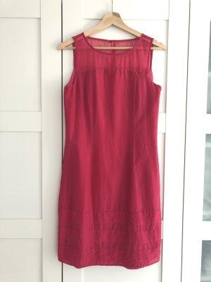 More & More Abito aderente rosa-rosso lampone