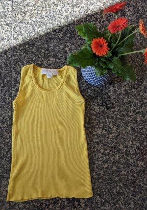 Sommer gelbes Sonnengelbes Tanktop Riptop Gr.S