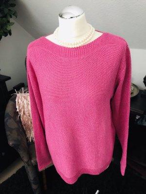 Sommer Glitzer Pullover gr. 40 - 42 pink