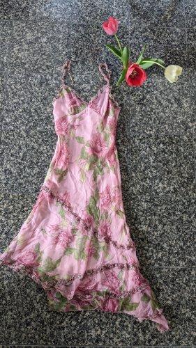 Sommer Hallo! Betty Barclay florales Kleid, asymmetrisch, Zipfel, Flamenco Style