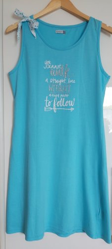 House-Frock light blue cotton