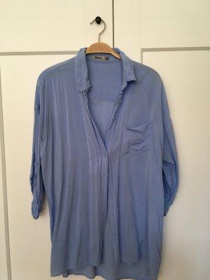 Stradivarius Camisa de manga corta azul celeste