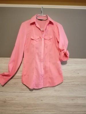 Amisu Camicia blusa rosa