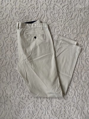 H&M Pantalone a vita bassa beige chiaro