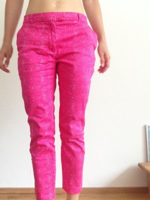 H&M Trousers violet-pink