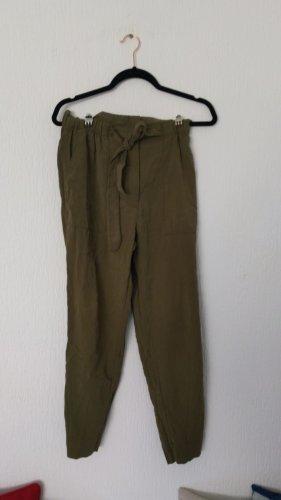 H&M Pantalon kaki vert olive