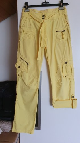 C&A Yessica Pantalon cargo jaune