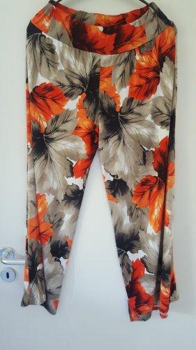 High Pantalón elástico multicolor