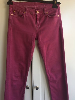 7 For All Mankind Skinny Jeans purple