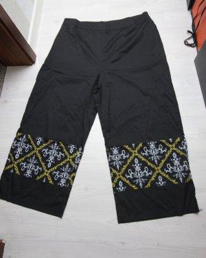 Sommer Hose leicht high waist breit geschnitten
