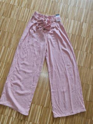 Primark Pantalón tipo suéter rosa