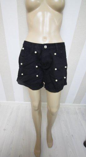 Shorts bianco-nero