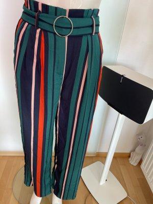 Bershka Pantalón de campana multicolor