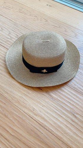 Unikat Chapeau de soleil doré