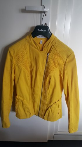 Apart Biker Jacket yellow