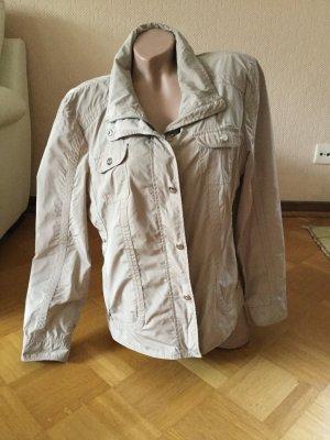 Basler Waxed Jacket beige polyester