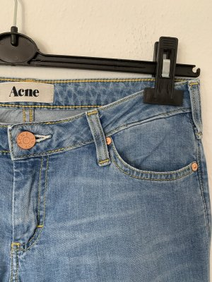 Acne Stretch jeans azuur-korenblauw