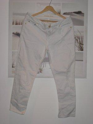 Michael Kors Jeans skinny blanc coton