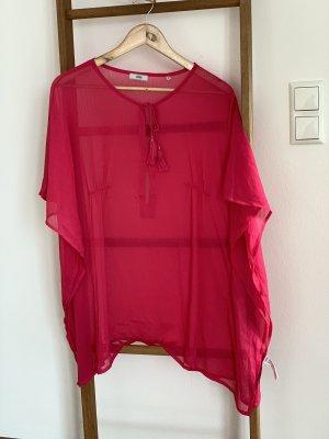 Tchibo / TCM Kimono Blouse raspberry-red-magenta
