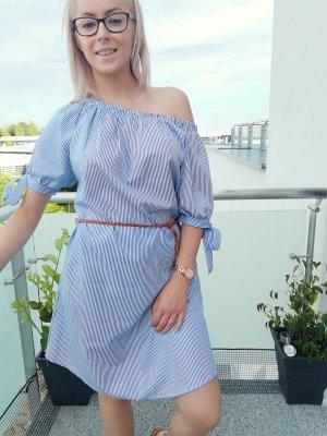 Italia Moda Beach Dress white-blue