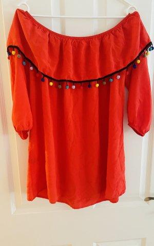 Glamorous Robe de plage rouge
