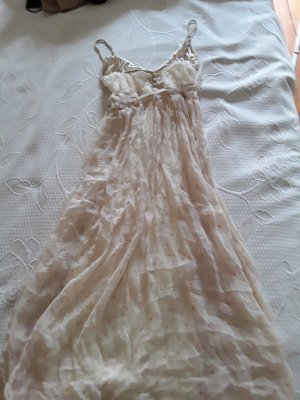 Vero Moda Chiffon Dress cream