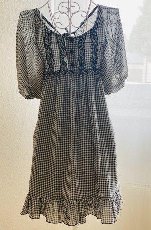 Denny Rose Summer Dress white-black