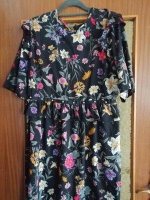 Influence Shortsleeve Dress black-pink