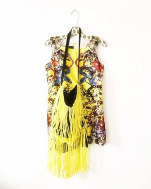 Anthropologie Mini Dress multicolored