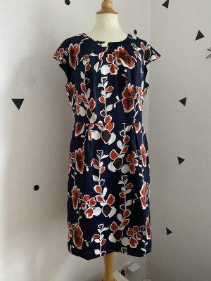 Sommer Kleid Blumen floral skandi gr 40