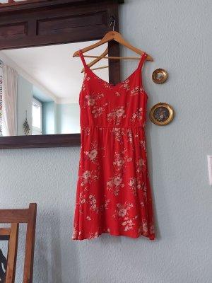 Sommer Kleid Blumenmuster