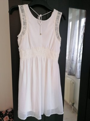 Vero Moda Vestido playero blanco-crema