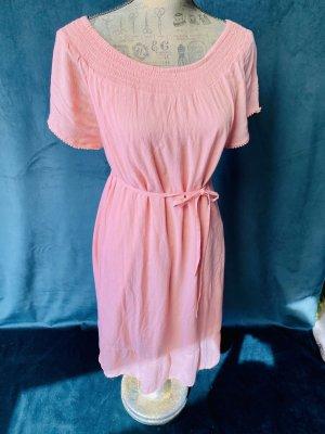 Sommer Kleid Esprit neu 36 Apricot Rose Elastisch