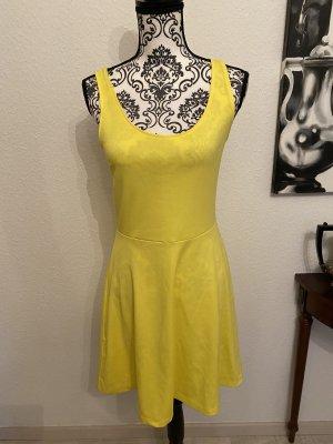 Sommer Kleid Gelb, NEU mit Etikett! Gr.M
