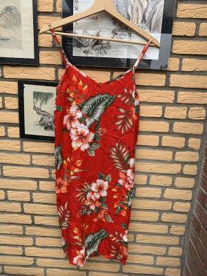 Sommer Kleid Gr 34 Rot